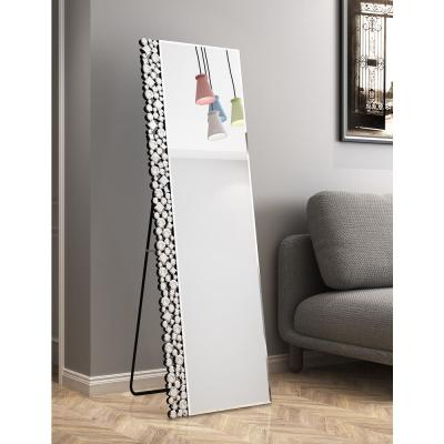 18 in. x 59 in. Modern Rectangle Framed Decoration Standing Mirror