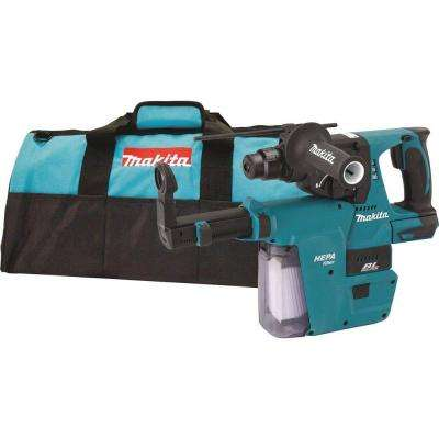 18-Volt LXT Li-Ion 1 in. Brushless Cordless SDS-Plus Concrete/Masonry Rotary Hammer (Tool-Only) w/ built-on HEPA Vacuum