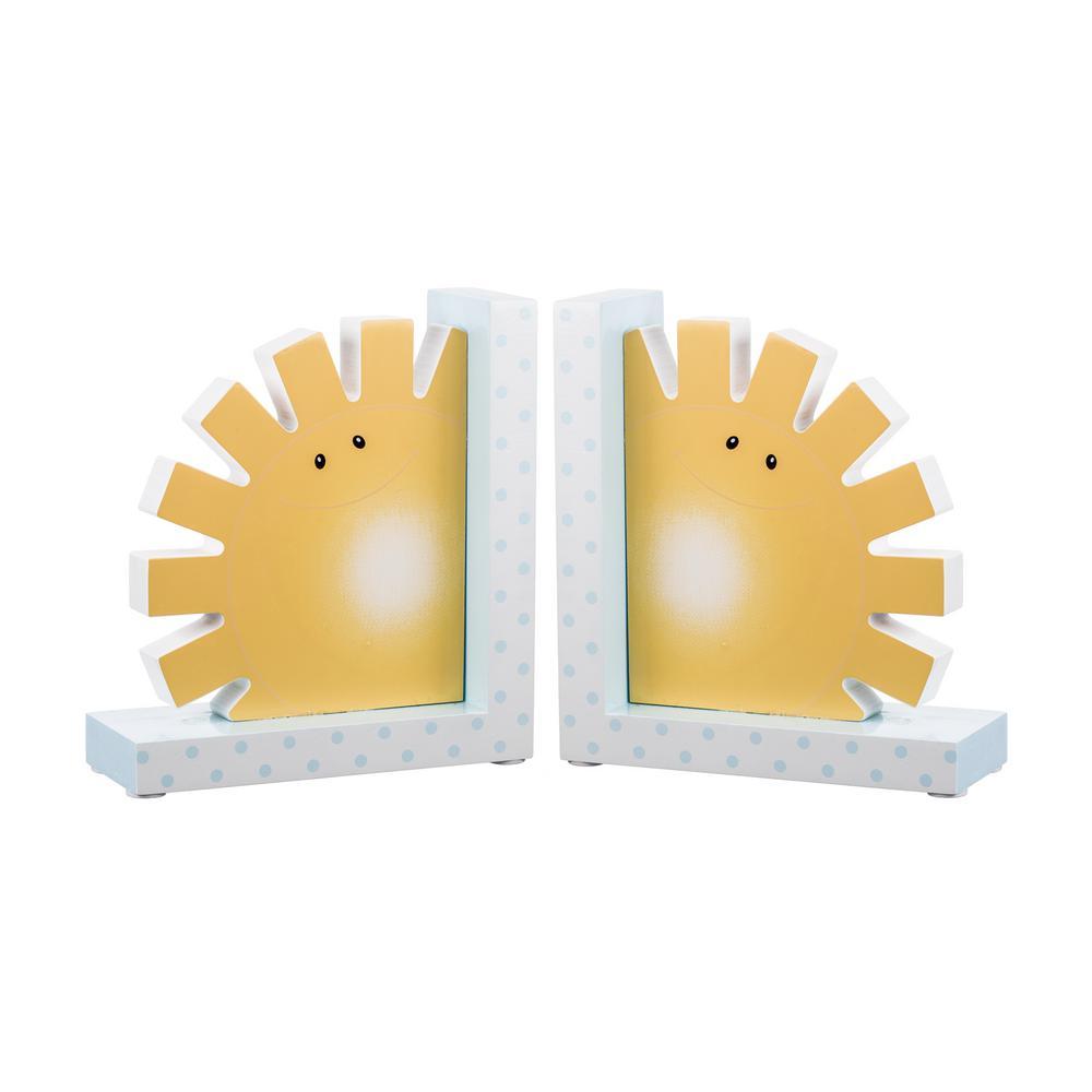 Noah's Pastel Pairs Sun Bookends