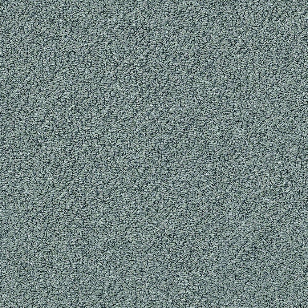 Carpet Sample - Free Rein - Color High Tide 8 in. x 8 in.