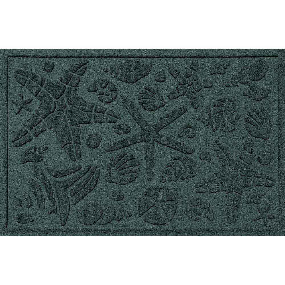 Evergreen 24 in. x 36 in. Beachcomber Polypropylene Door Mat