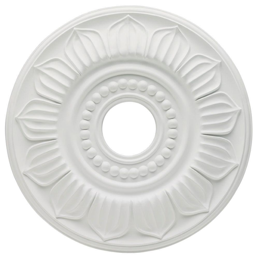 Westinghouse Francesca 18 In White Finish Ceiling Medallion 7775600