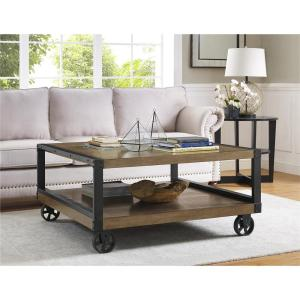 Altra Furniture Wade Rustic Gray Mobile Coffee Table by Altra Furniture