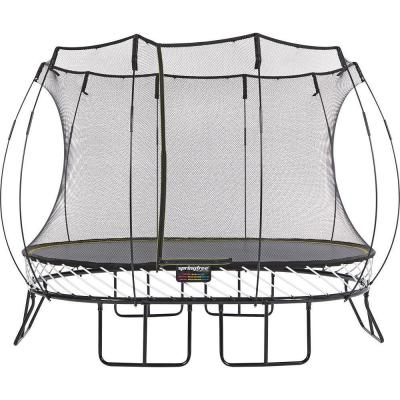 8 ft. x 11 ft. Medium Oval Trampoline with Flexinet Safety Enclosure