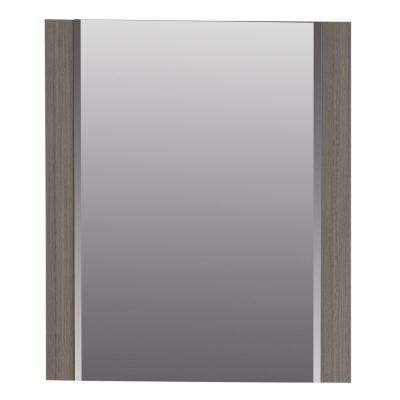 Jayli 20.4 in. x 24.2 in. Framed Wall Mirror in Haze