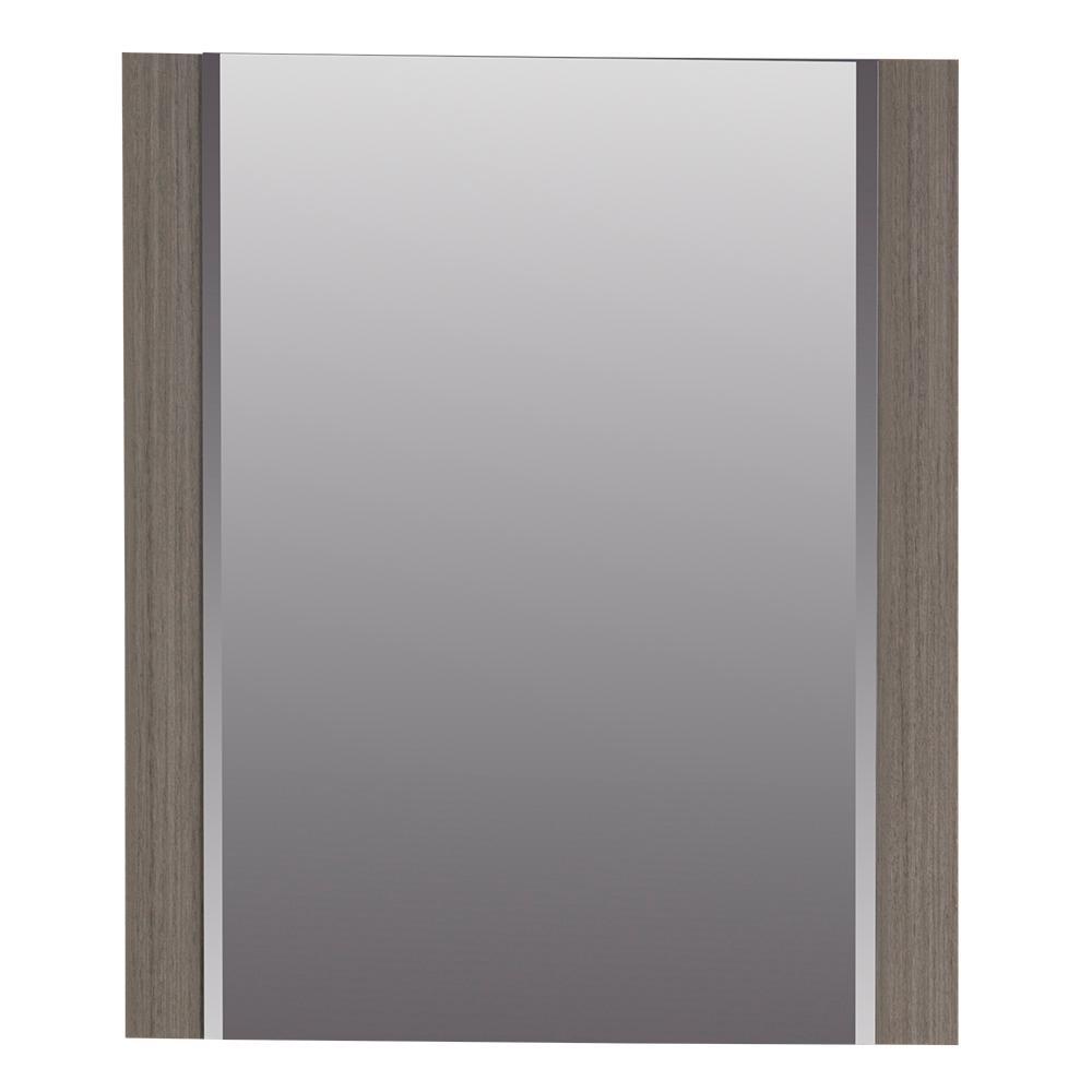 Jayli 20 in. x 24 in. Framed Wall Mirror in Haze