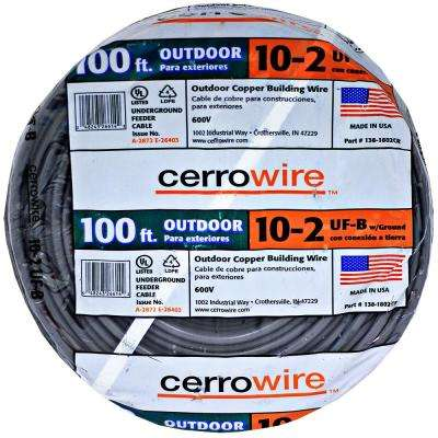 100 ft. 10/2 UF-B Wire