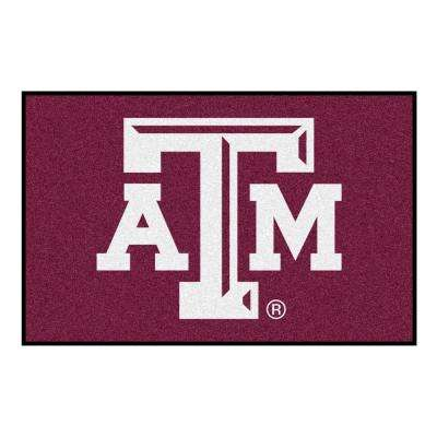 Texas A&M University 1 ft. 7 in. x 2 ft. 6 in. Accent Rug