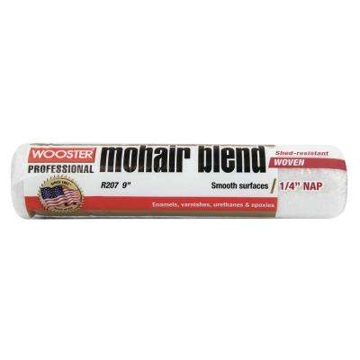 9 in. x 1/4 in. Mohair Roller Cover
