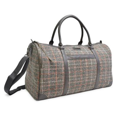 The Wool Weekender Collection 11 in. Black Lightweight Duffel Bag