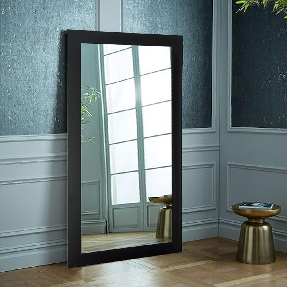 Designer Black 32 In X 65 5 In Tall Mirror Av2tall The