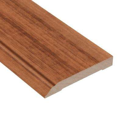 Brazilian Koa Kaleido 1/2 in. Thick x 3-1/2 in. Wide x 94 in. Length Hardwood Wall Base Molding
