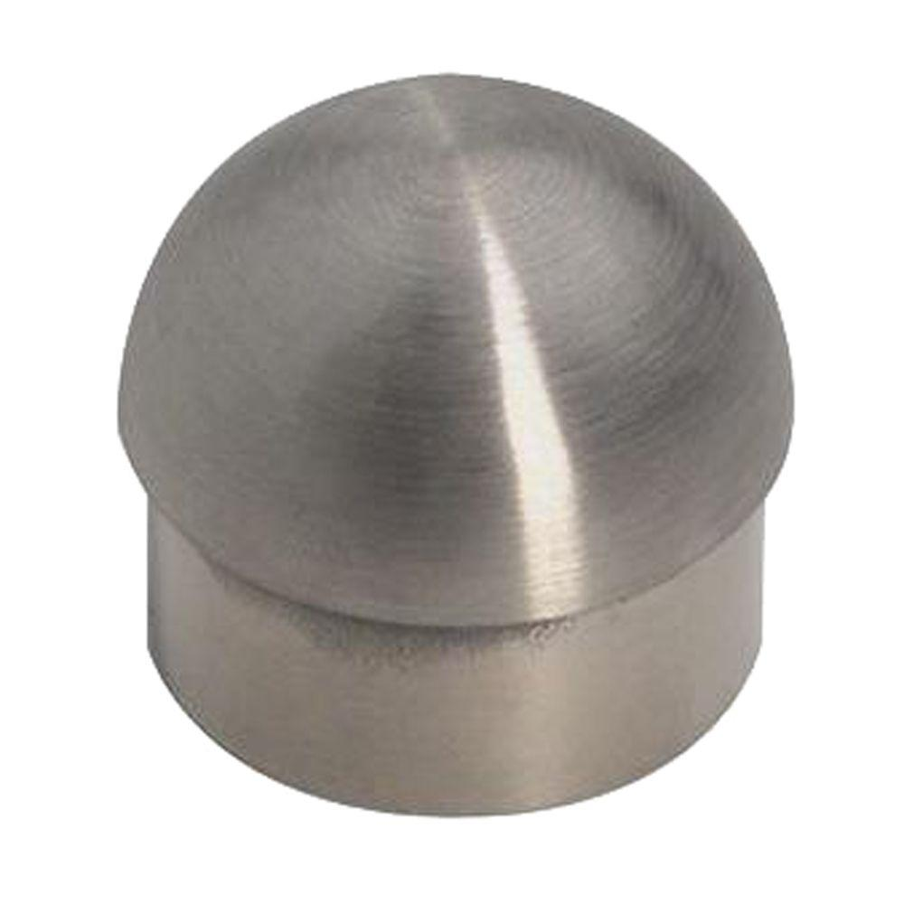 Lido designs stainless steel half ball end cap for