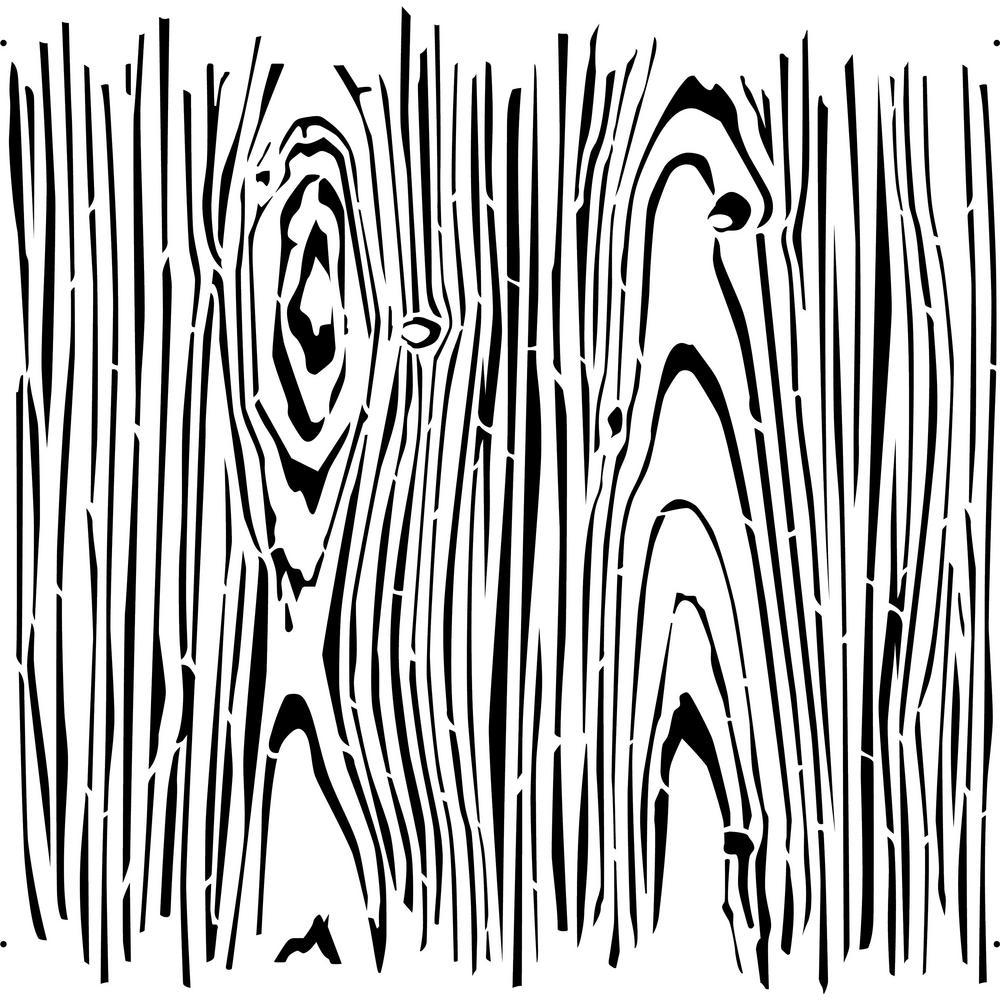 Faux Wood Grain Stencil