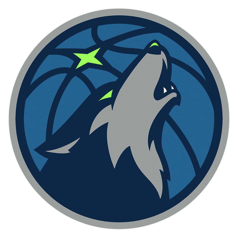 NBA Minnesota Timberwolves Outdoor Logo Graphic- Large