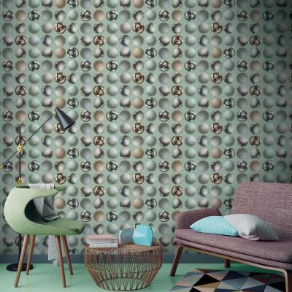 Mattel Grey Sphere Wallpaper