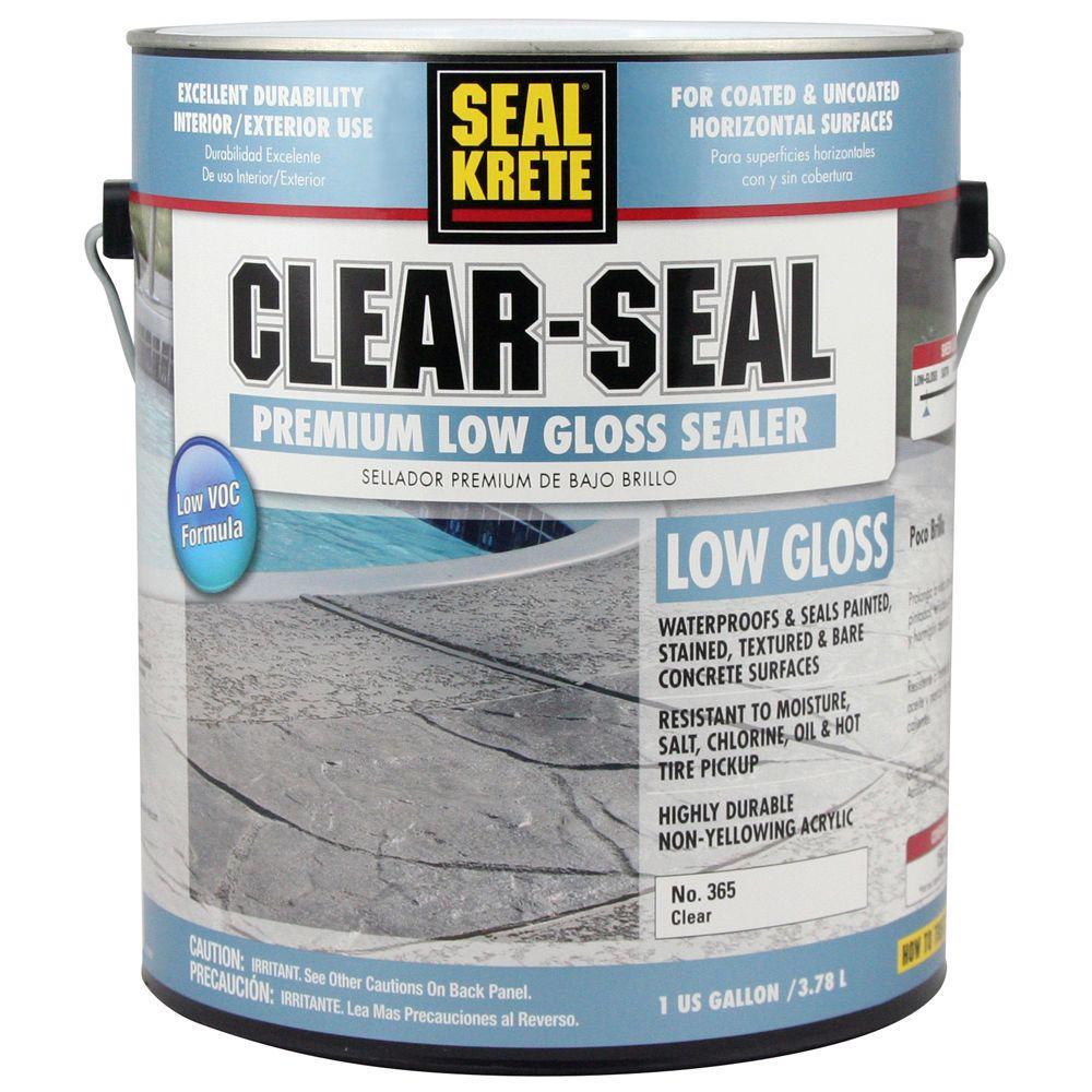 Seal-Krete 1 gal. Clear-Seal Low-Gloss Sealer