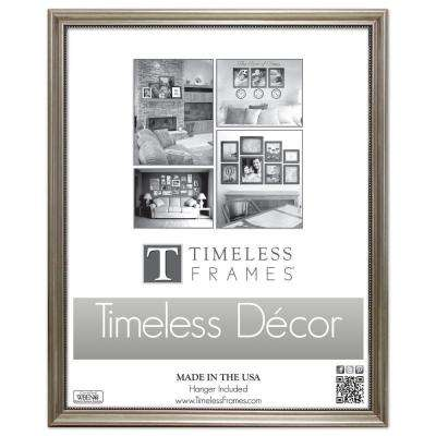 Astor 1-Opening 16 in. x 20 in. Silver Picture Frame
