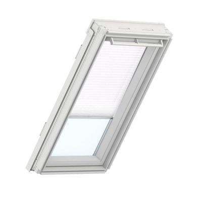 White Manual Light Filtering Skylight Blinds for GPU SK06 Models