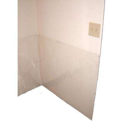 33 in. H x 50 ft. L Wall Shield Protection from Pet Scratches