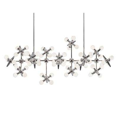 Ranor 16-Light Chrome 60-Watt Equivalince Integrated LED Chandelier
