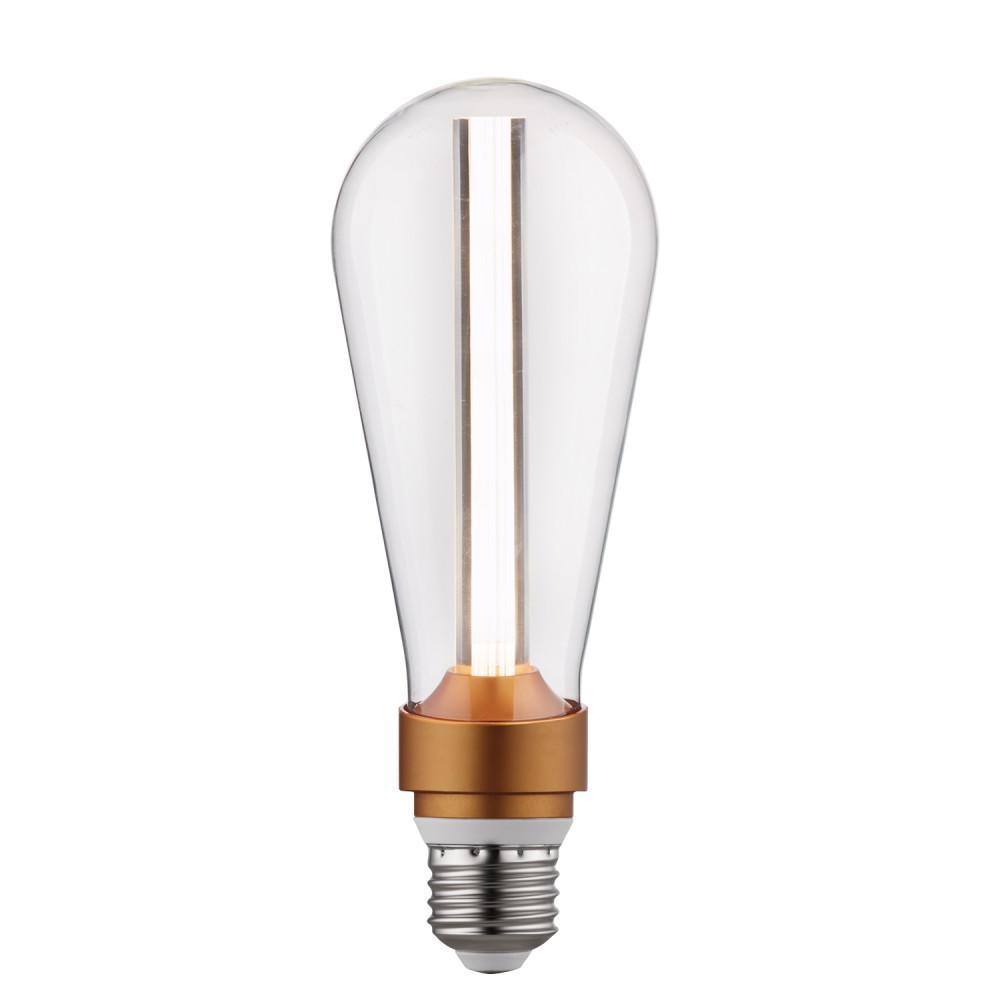 15-Watt Equivalent ST64 Dimmable LED Light Bulb Cool White