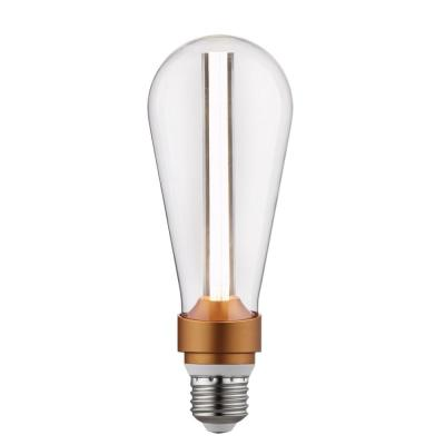15-Watt Equivalent ST64 Dimmable LED Light Bulb Cool White