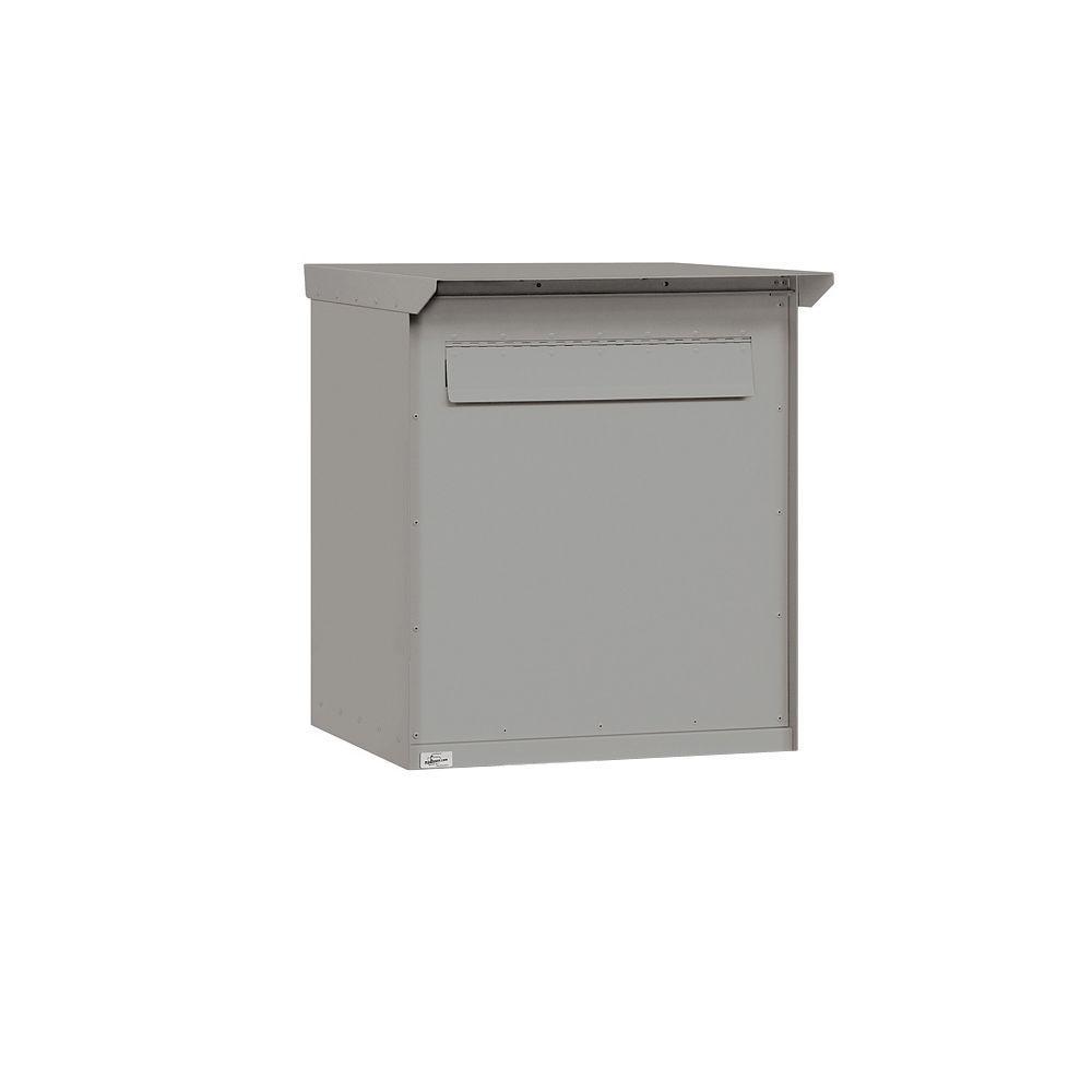 Salsbury Industries 4200 Series Large Pedestal Drop Box in Primer