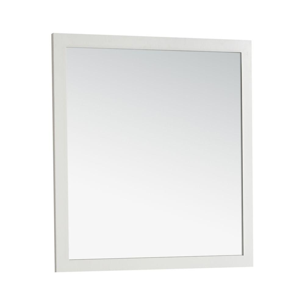 Simply Home Cape Cod 34 in. L x 32 in. W Wall Mounted Dec...