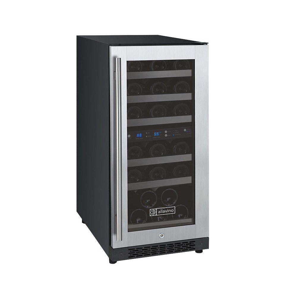 FlexCount Series 30-Bottle Dual Zone Convertible Wine Cellar