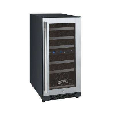 FlexCount Series 30-Bottle Dual Zone Wine Cellar