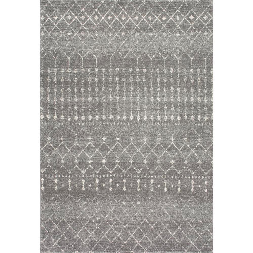 Dark Silver Rug: NuLOOM Blythe Dark Grey 7 Ft. X 9 Ft. Area Rug-RZBD16B