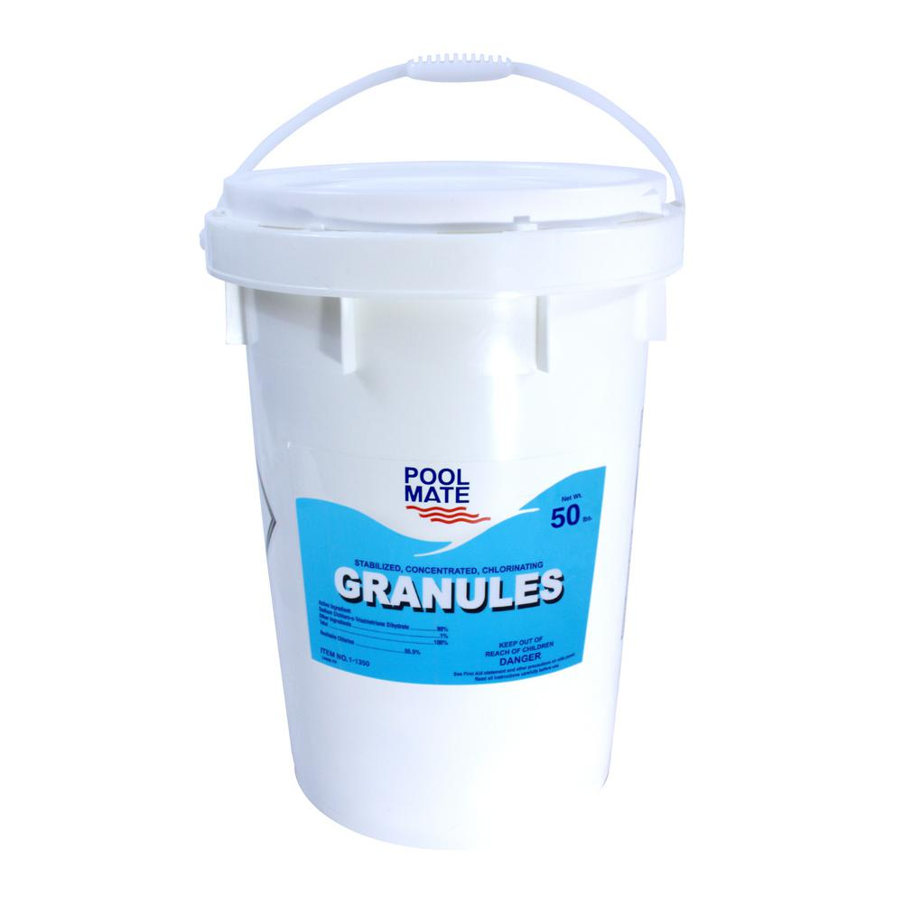 50 lb. Pool Concentrated Chlorinating Granules