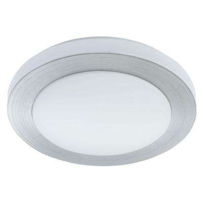 Carpi 1 Brushed Aluminum Integrated LED Ceiling Light