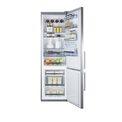 24 in. W 12.8 cu. ft. Bottom Freezer Refrigerator in Stainless Steel, Counter Depth