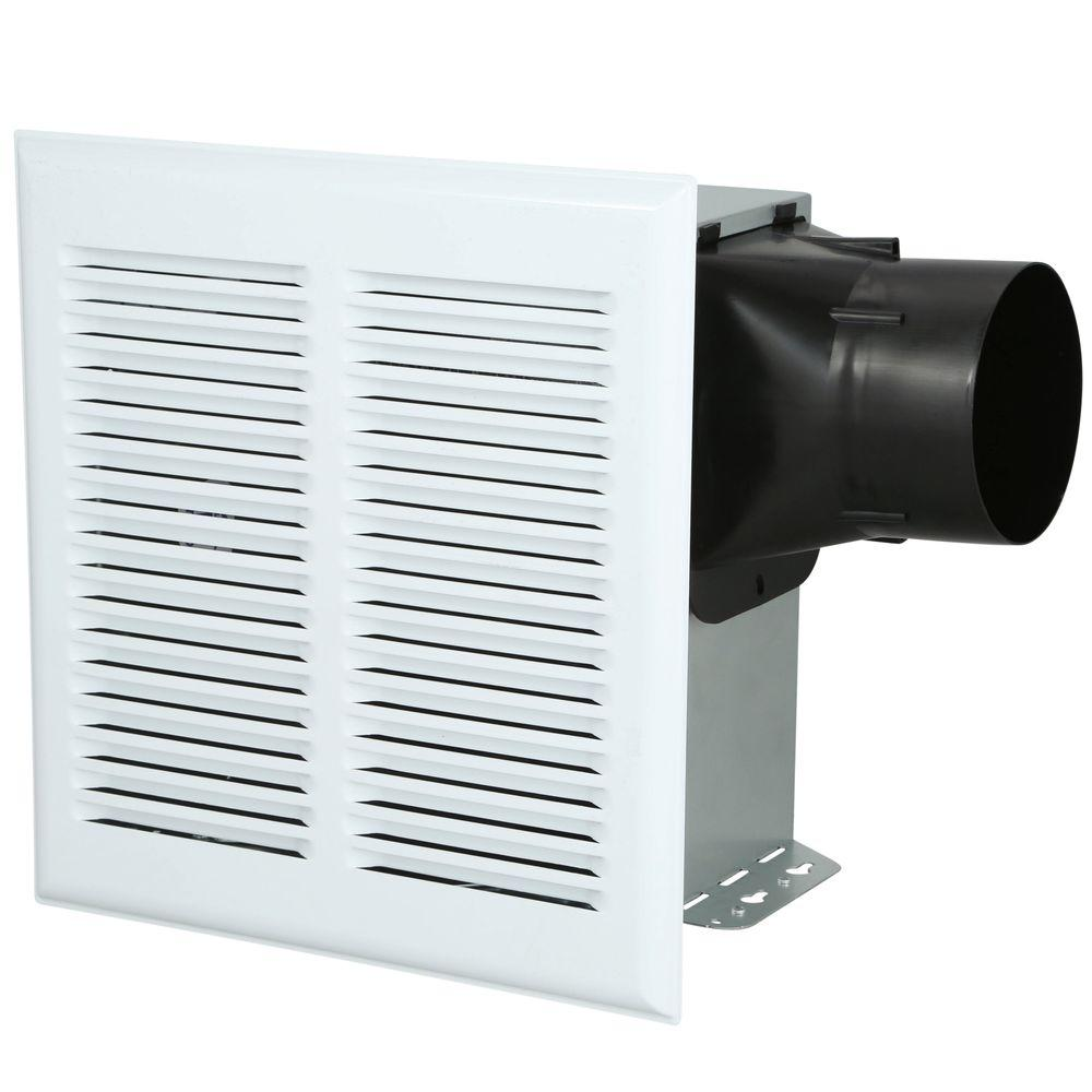 Nutone duct free wall ceiling mount exhaust bath fan 682nt - Ductless bathroom exhaust fan with light ...