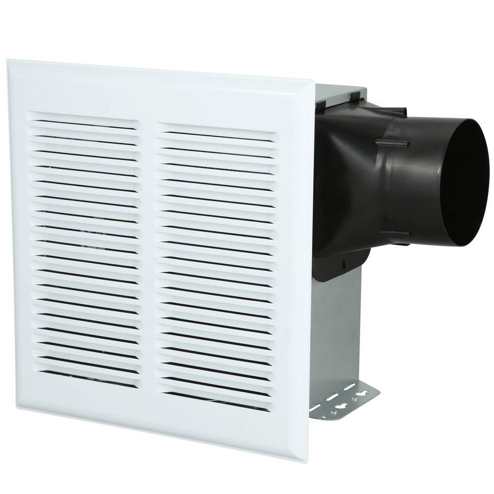 InVent Series Heavy Duty 80 CFM Wall/Ceiling Installation Bathroom Exhaust Fan