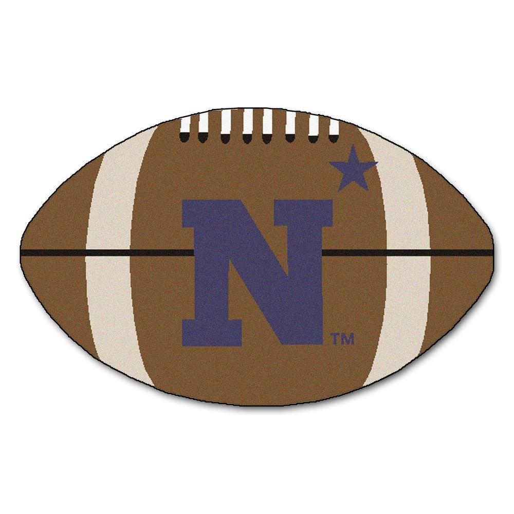 FANMATS NCAA U.S. Naval Academy Brown 2 ft. x 3 ft ...