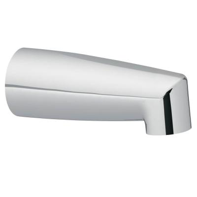 Non-Diverter Tub Spout with Slip Fit Connection in Chrome
