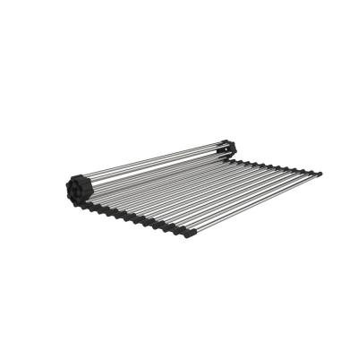 15 in. x 18 in. Stainless Steel Roll Up Sink Grid