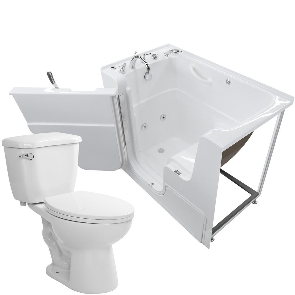 Universal Tubs Nova Heated Wheelchair Accessible 53 In