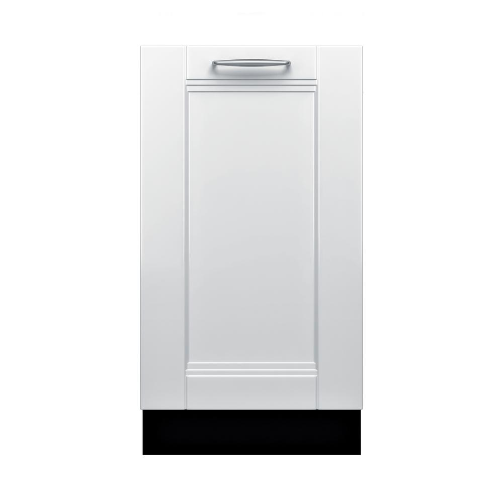 Bosch 800 Series 18 In Top Control Tall Tub Dishwasher Custom Panel Ready With