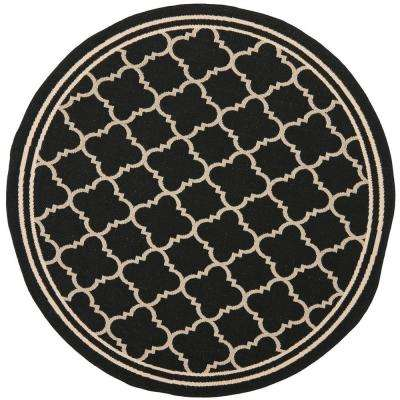 indoor rugs outdoor brown olive safavieh slp natural rug courtyard collection and area round patios diameter for com amazon