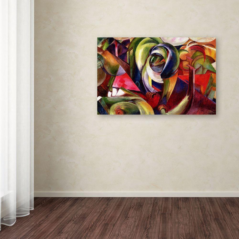 30 in. x 47 in. Mandrill Canvas Art