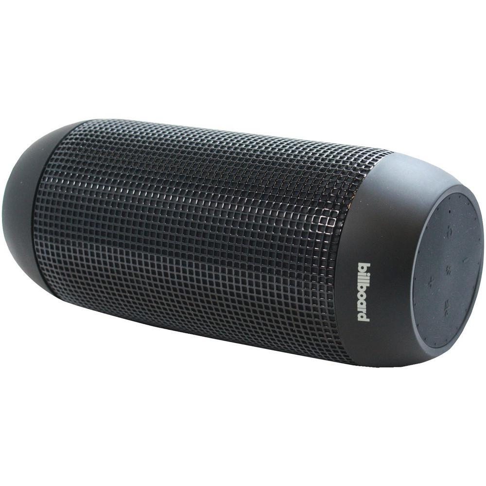 Billboard Long Range Water Resistant Bluetooth Speaker In Black Bb742 The Home Depot