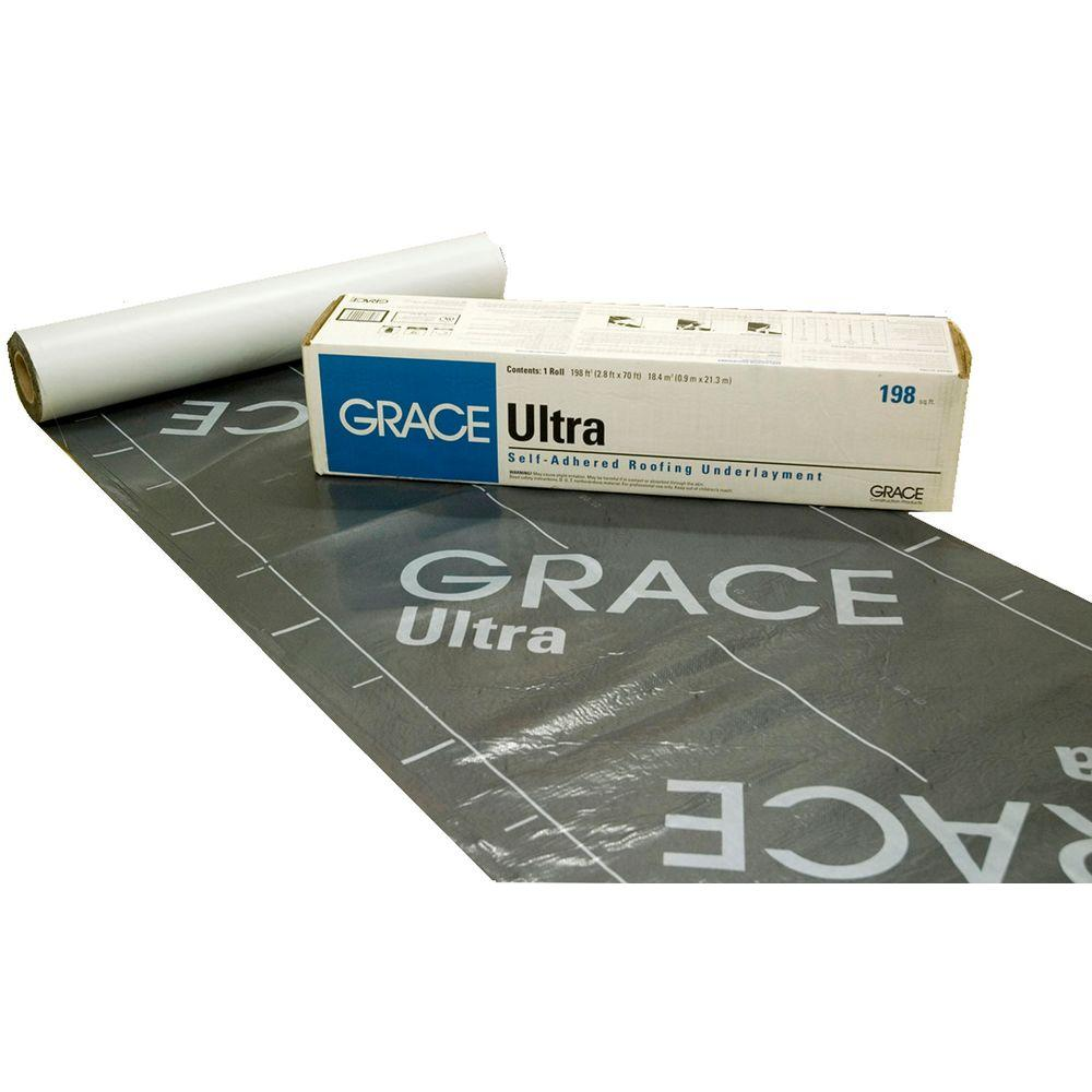 Grace Ultra 198 sq. ft. Roll Roofing Underlayment