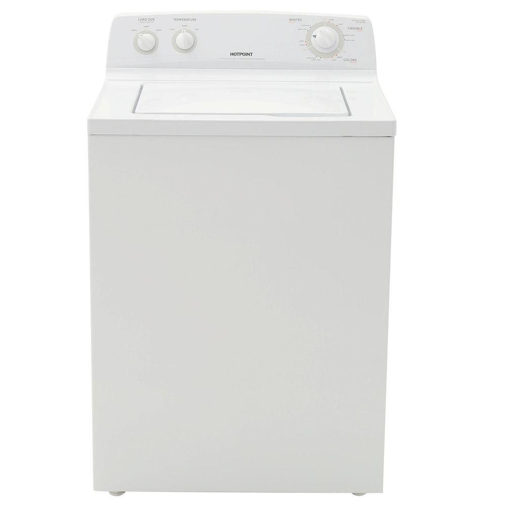 Hotpoint 3.6 DOE cu. ft. Top Load Washer in White