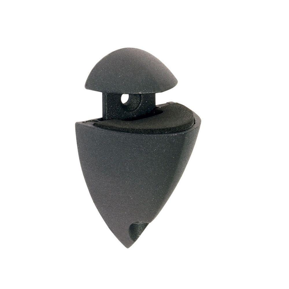 Dolle Splash 1/4 in. - 1 in. Adjustable Shelf Support in Black