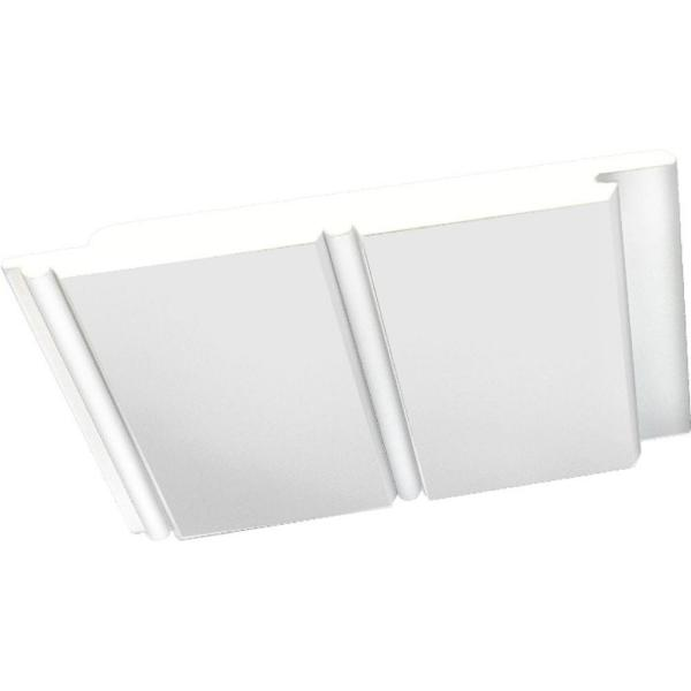 5-1/2 in. x 96 in. White PVC Bead Board Siding (8-Piece)