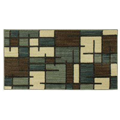 Fairfield Charcoal 2 ft. x 4 ft. Scatter Area Rug